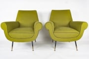 Pair of Gigi Radice Italian armchairs5