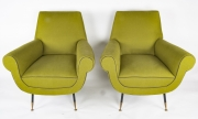 Pair of Gigi Radice Italian armchairs6