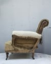 Pair of Howard style club armchairs for restoration - 12