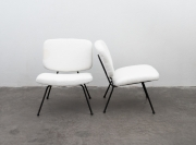pair-of-low-chairs-by-Pierre-Paulin-and-Thonet-1950s1