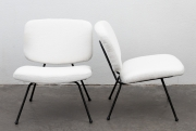 pair-of-low-chairs-by-Pierre-Paulin-and-Thonet-1950s2