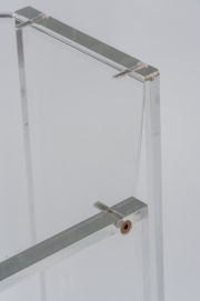 Pair of lucite occassional tables10