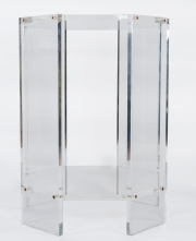 Pair of lucite occassional tables2
