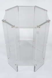 Pair of lucite occassional tables6