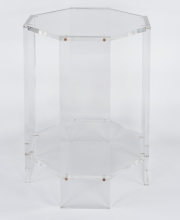 Pair of lucite occassional tables9