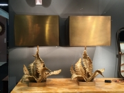 Pair of Maison Charles Fougere table lamps-2