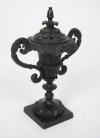 Pair of Regency bronze perfume burners-3