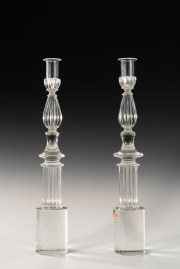 Pair-of-Seguso-candlesticks-by-John-Loring-of-Tiffany-2