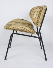 Pair of upholstered side chairs attributed to Rima4
