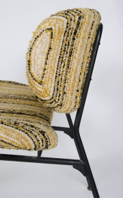 Pair of upholstered side chairs attributed to Rima5