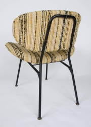 Pair of upholstered side chairs attributed to Rima6