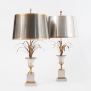 pair of Vase Roseaux table lamps by Maison Charles-10