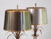 pair of Vase Roseaux table lamps by Maison Charles-9