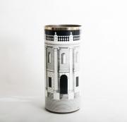 Piero Fornasetti casa con colonne umbrella stand-1