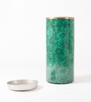 Piero Fornasetti malachite pattern umbrella holder-1