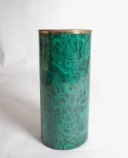 Piero Fornasetti malachite pattern umbrella holder-10