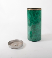 Piero Fornasetti malachite pattern umbrella holder-2