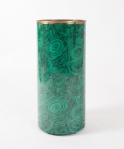 Piero Fornasetti malachite pattern umbrella holder-3