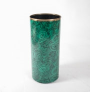 Piero Fornasetti malachite pattern umbrella holder-5