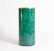 Piero Fornasetti malachite pattern umbrella holder-6