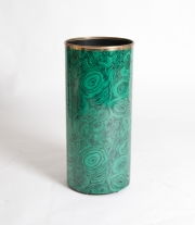 Piero Fornasetti malachite pattern umbrella holder-8