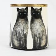 Piero-Fornasetti-Siamese-cats-wastepaper-basket2