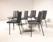 set-of-six-Pierre-Guariche-Quatre-faces-chairs5