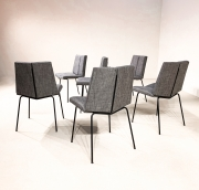 set-of-six-Pierre-Guariche-Quatre-faces-chairs6