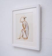 Sitting-monkey-gouache-by-Henri-SAMOUILOV6