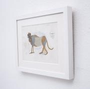 Standing-macaque-gouache-by-HENRI-SAMOUILOV5