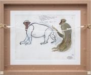 Standing-macaque-gouache-by-HENRI-SAMOUILOV6