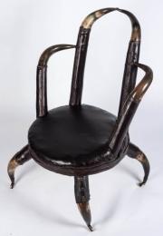 Unusual 19th Century Horn Chair - 0