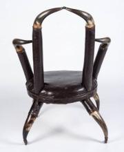 Unusual 19th Century Horn Chair - 3