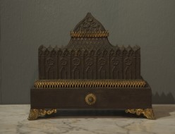 19thc French gothic style inkstand - Sold
