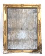 Weathered Napoleon III looking glass - Sold