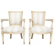 Pair of French Directoire style armchairs - Sold