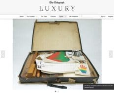 Market News: A suitcase full of Dine – Article from Telegraph Luxury magazine – September 2014