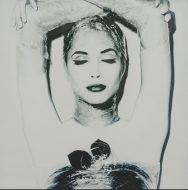 Original photograph of Christy Turlington by Karl Lagerfeld - Sold
