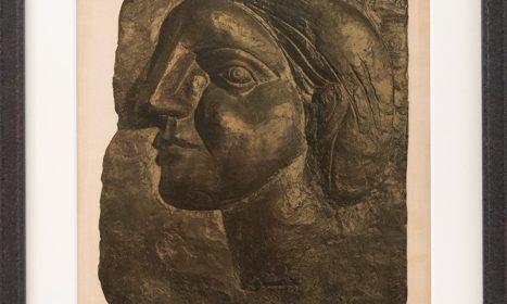 Portrait of Marie-Thérèse Walter after Pablo Picasso by Mourlot