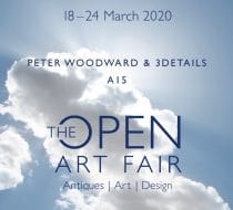 The Open Art Fair 2020 E-ticket – Peter Woodward & 3details
