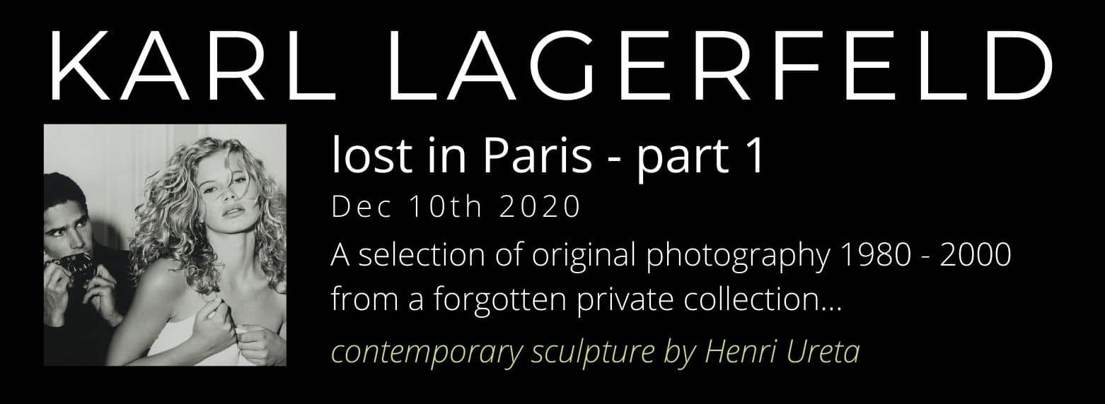 VE2 - Karl Lagerfeld - lost in Paris - part 1