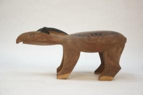 Carved wood Mehinako Anta - Sold