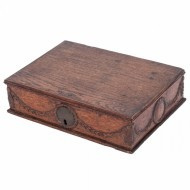 Small Louis XVI Oak Candle Box - Sold